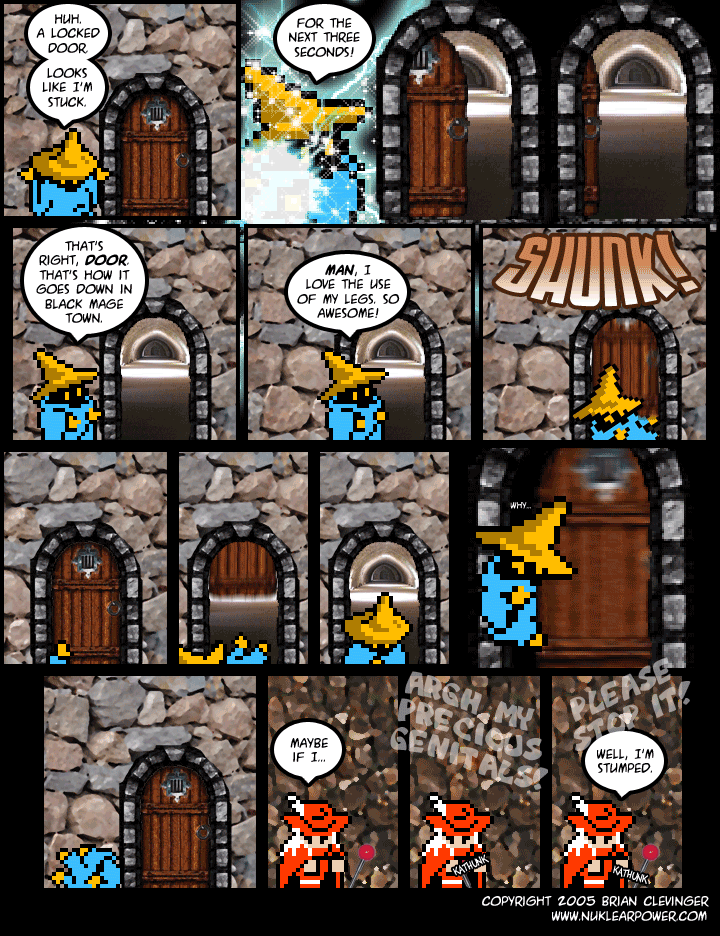 Episode 607: The Locked Door