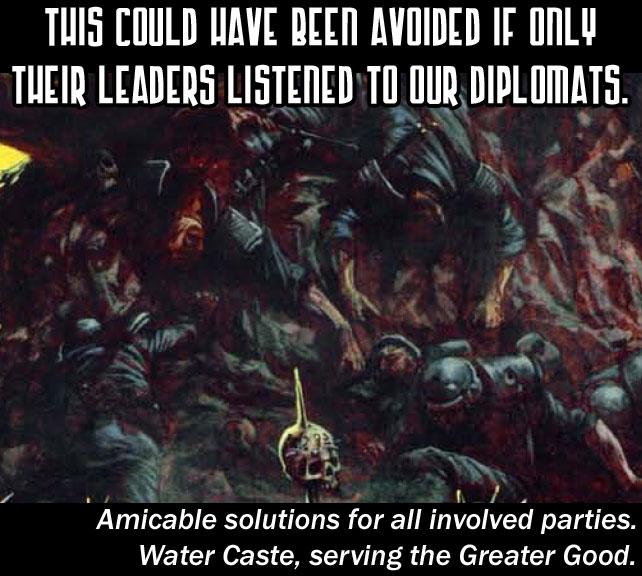 Por'hui propaganda - Warhammer 40k Forum Tau Online